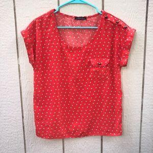 The Vintage Shop comma blouse size small